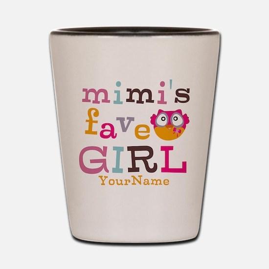 Mimis Favorite Girl - Personalized Shot Glass