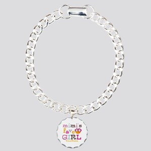 Mimis Favorite Girl - Personalized Charm Bracelet,