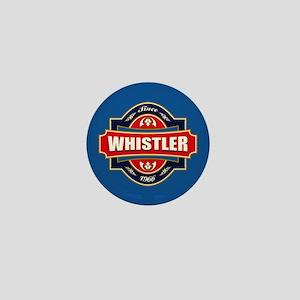 Whistler Old Label Mini Button