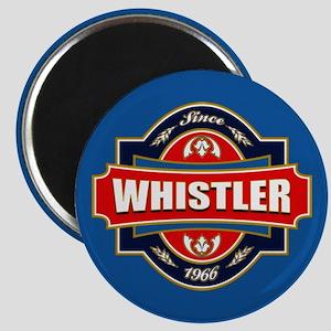 Whistler Old Label Magnet