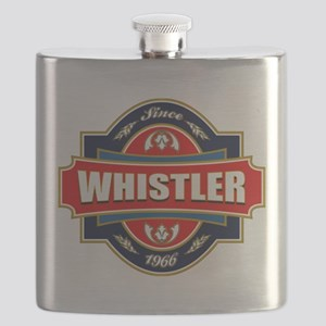 Whistler Old Label Flask
