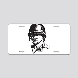Soldier Aluminum License Plate