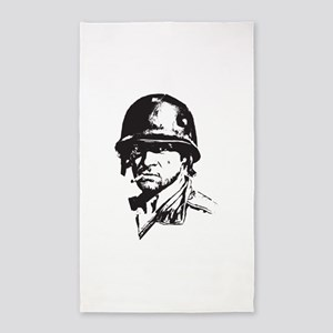 Soldier 3'x5' Area Rug