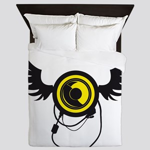 Winged Speaker Queen Duvet
