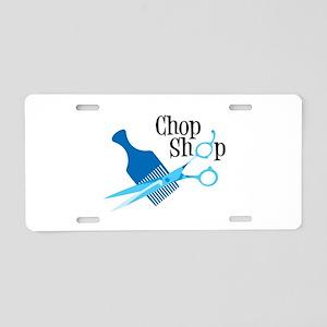 Chop Shop Aluminum License Plate