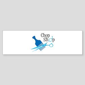 Chop Shop Bumper Sticker