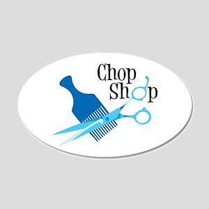 Chop Shop Wall Decal