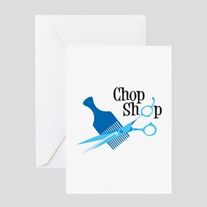 Chop Shop Greeting Cards