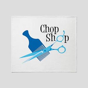 Chop Shop Throw Blanket
