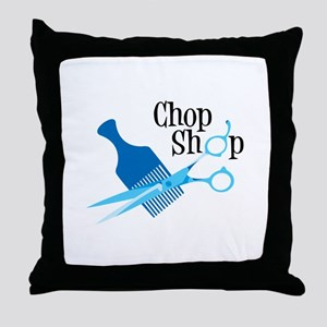 Chop Shop Throw Pillow