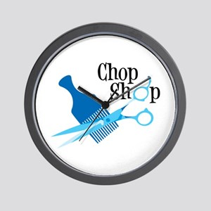 Chop Shop Wall Clock