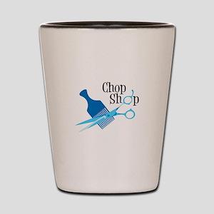 Chop Shop Shot Glass