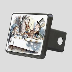 Alice in Wonderland Tea Pa Rectangular Hitch Cover