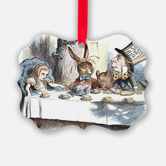 Alice in Wonderland Tea Party Ornament