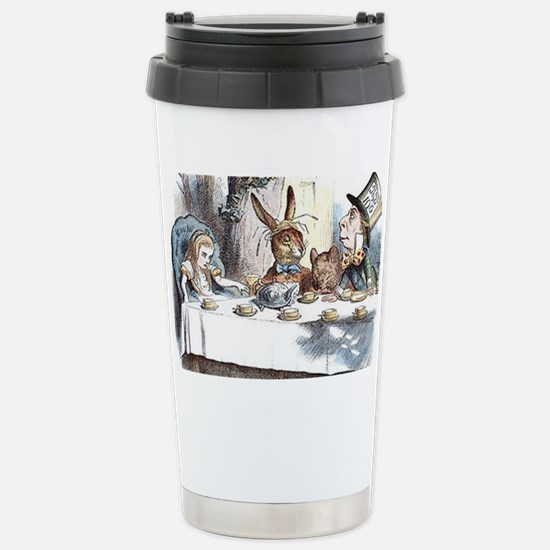 Alice in Wonderland Tea Stainless Steel Travel Mug