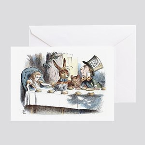 Alice in Wonderland Tea Party Greeting Card