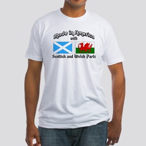 Scottish-Welsh Fitted T-Shirt