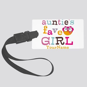 Personalized Aunties Favorite Girl Large Luggage T