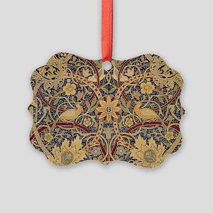 Vintage Morris Tapestry Ornament