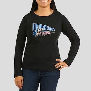 Hockey Player Women's Long Sleeve Dark T-Shirt