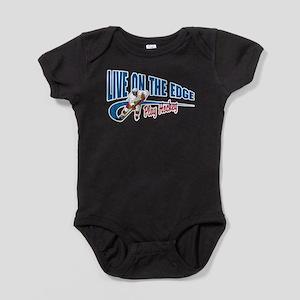 Hockey Player Baby Bodysuit