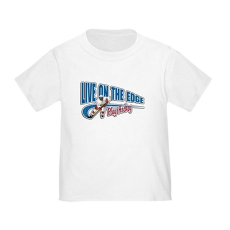 Hockey Player Toddler T-Shirt