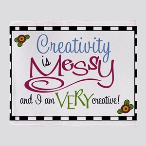 Creativity Throw Blanket