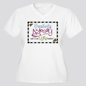 Creativity Plus Size T-Shirt