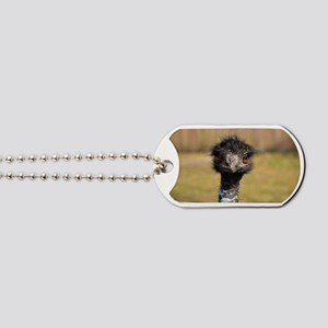 Portrait of an Emu Dog Tags