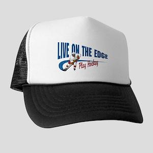 Hockey Player Trucker Hat