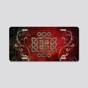 The celtic knot with floral elements Aluminum Lice