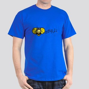 Bee-ootiful (Beautiful) Design Dark T-Shirt