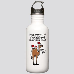 Hump Day Christmas Stainless Water Bottle 1.0L