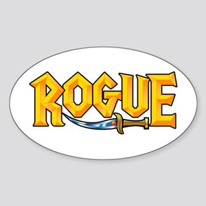 Rogue @ eShirtLabs.Com Oval Sticker