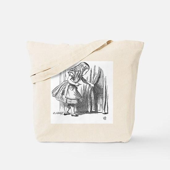 Vintage Alice in Wonderland 'looking for  Tote Bag