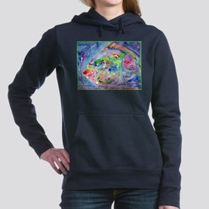 Tropical Fish! Colorful art! Hooded Sweatshirt