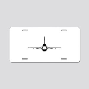 F-16 Fighting Falcon (front) Aluminum License Plat