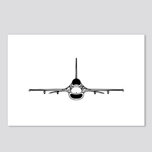 F-16 Fighting Falcon (front) Postcards (Package of