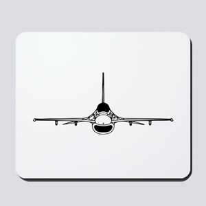 F-16 Fighting Falcon (front) Mousepad