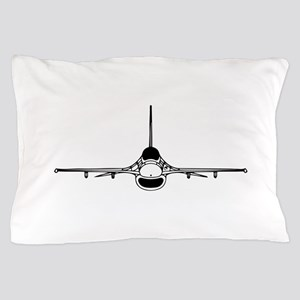 F-16 Fighting Falcon (front) Pillow Case