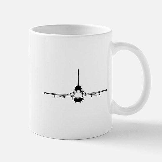 F-16 Fighting Falcon (front) Mugs