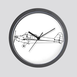 Piper J3 Cub Wall Clock