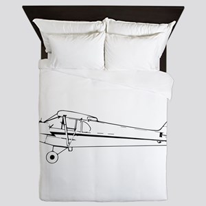 Piper J3 Cub Queen Duvet