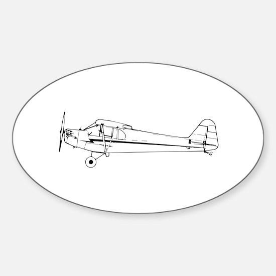Piper J3 Cub Decal