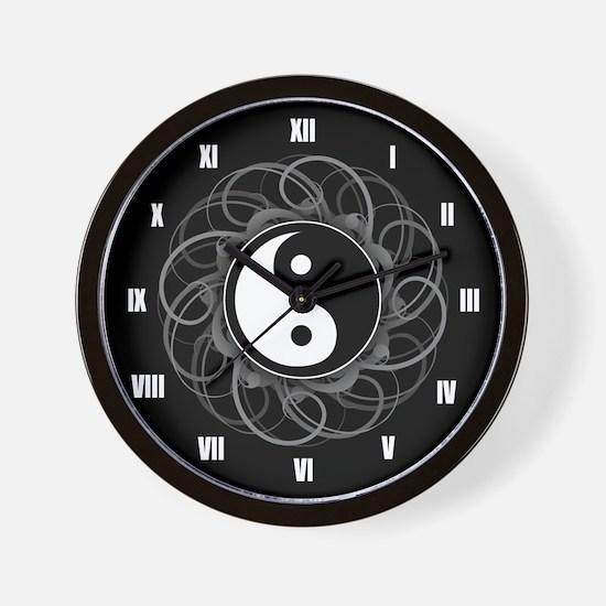 Zen Yin Yang Wall Clock