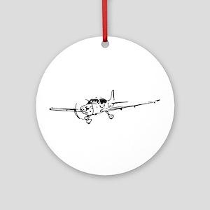 Cirrus SR-22 Art Ornament (Round)