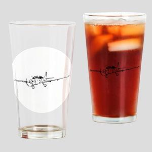 Cirrus SR-22 Art Drinking Glass