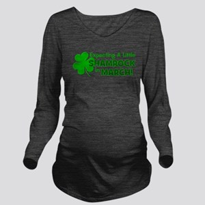 expectingalittleshamrockinmarch Long Sleeve Ma