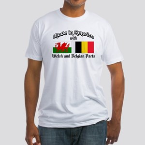 Welsh-Belgian Fitted T-Shirt