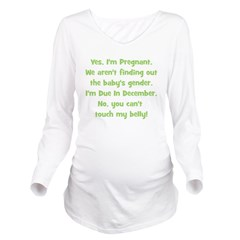 surprise_december_belly.png Long Sleeve Maternity